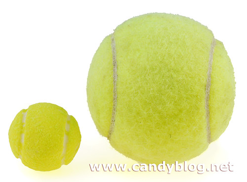 Ball Gum Balls (Football  Tennis) - Candy Blog - why is there fuzz on a tennis ball