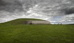 New Grange megalithic passage tomb