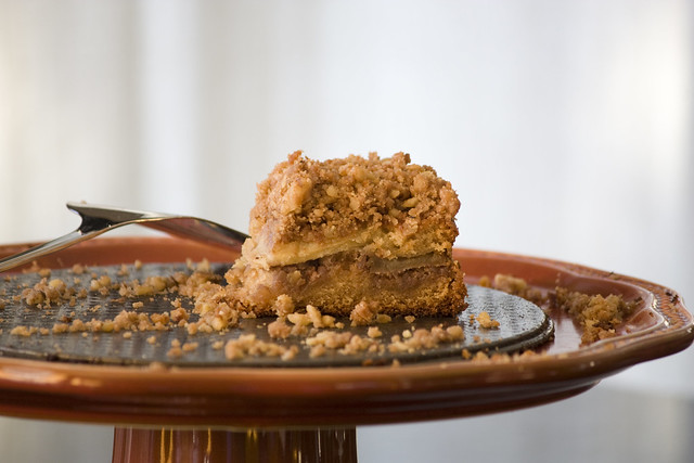 Honey Crisp Apple Crumb Coffee Cake