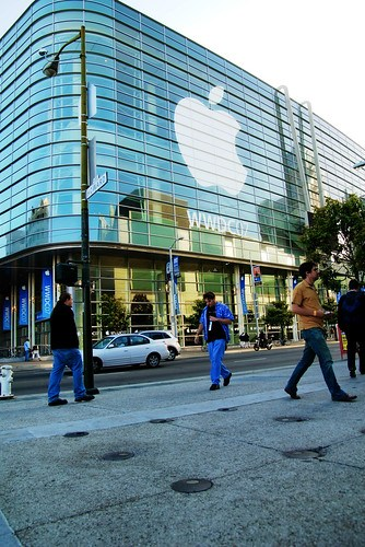 My ten seconds at WWDC (2007-0048 12)