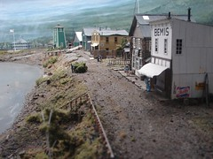 Diorama of Nenana Valley