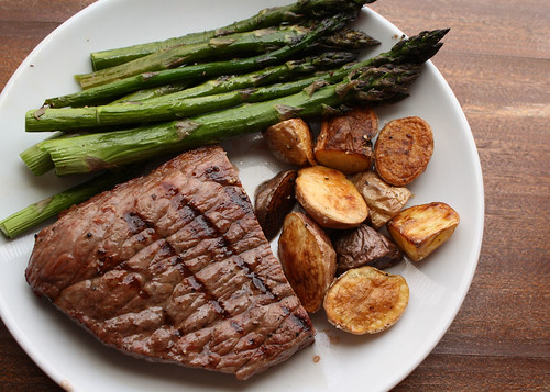 Life'S Too Short To Eat Fat Free Cheese: Grilled Steak With