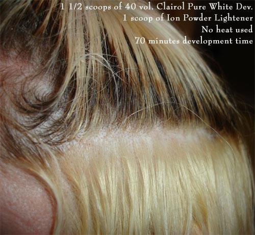 Hair Bleaching Comparison
