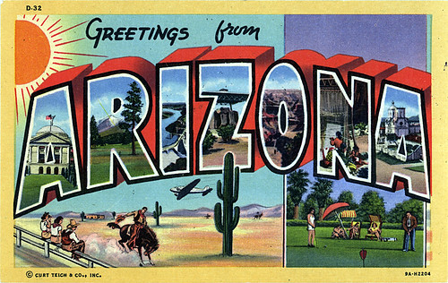 Teich Modern Postcard Collection: Greetings From Arizona, Part One