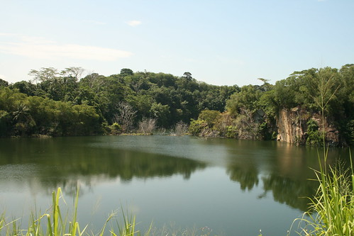 A Lake on Pulau Ubin Island