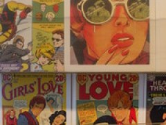 ROmance Comic Postcards