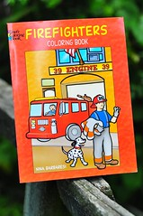 The Firefighters Coloring Book