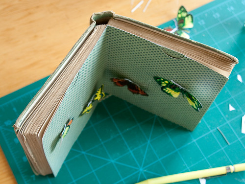 Altered Book- Experimenting with pull tabs-2