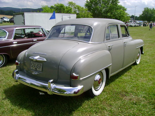 1951 plymouth cranbrook station wagon