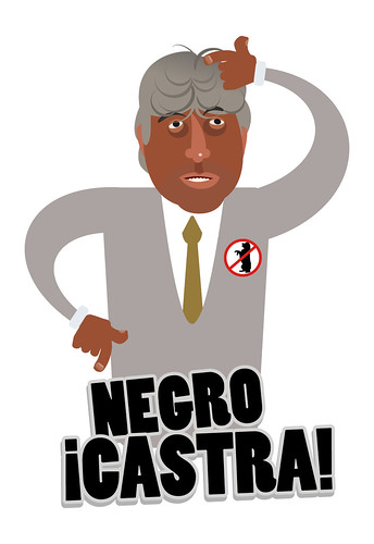 "¡Negro Castra! • <a style=""font-size:0.8em;"" href=""http://www.flickr.com/photos/8565265@N03/5126942445/"" target=""_blank"">View on Flickr</a>"