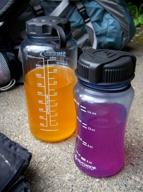 hiking bottles, nalgene