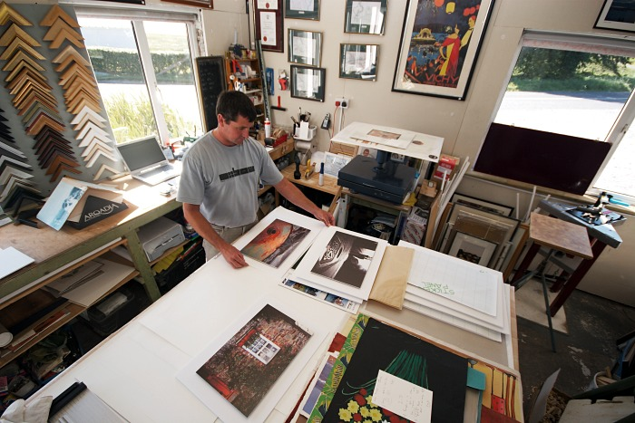 Framing and mounting the prints