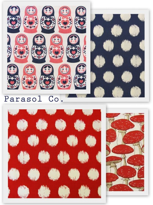 Parasol Co. - New Fabric!