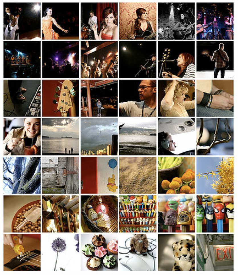 Redpilot Flickr Favourites mosaic all
