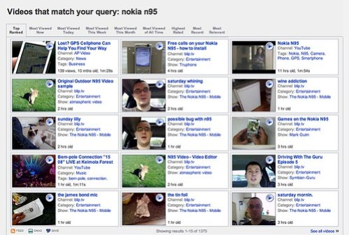 Videos that match your query: nokia n95 - Truveo Video Search