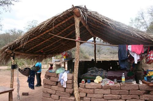 Guyarani housing project, before photos