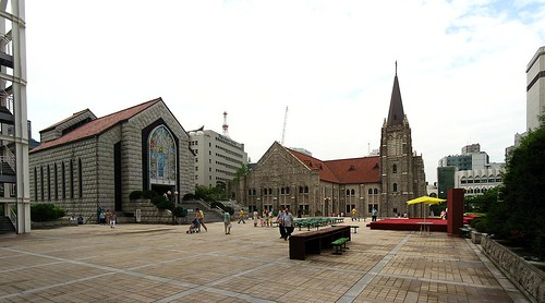Main Courtyard, Youngnak Presbyterian Church
