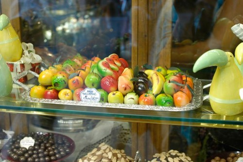 marzipan candies
