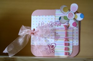 Yixuan album with ribbon