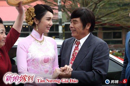 《新娘嫁到》最萌年紀差 金鐘影帝雷洪戲裡戲外一樣精彩!