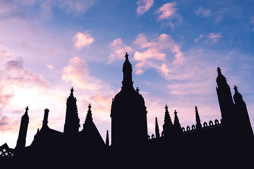 Clouds above Kings College
