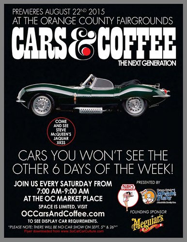"""COSTA MESA CA USA - """"Cars and Coffee The Next Generation"""" at the Orange County Fairgrounds - Every Saturday - January 9 - 7am to 9am - credit : www.SoCalCarCulture.com • <a style=""""font-size:0.8em;"""" href=""""http://www.flickr.com/photos/134158884@N03/24267884525/"""" target=""""_blank"""">View on Flickr</a>"""