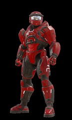 "Halo-5-Guardians-Mark-V-Alpha-Red-Front • <a style=""font-size:0.8em;"" href=""http://www.flickr.com/photos/118297526@N06/24579588115/"" target=""_blank"">View on Flickr</a>"
