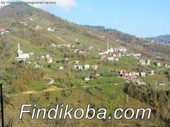 Kaban Mahallemizden Saraçlı Köyünün görünümü.
