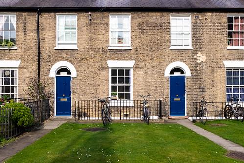 Blue #DoorsOfCambridge
