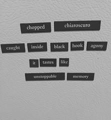 "#TFOTD POEM: ""Chopped Chiaroscuro"" by Stephanie Wytovich (@JustAfterSunset)"