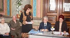 Emilia Tutuianu lansare Ghideanu la Biblioteca Roman