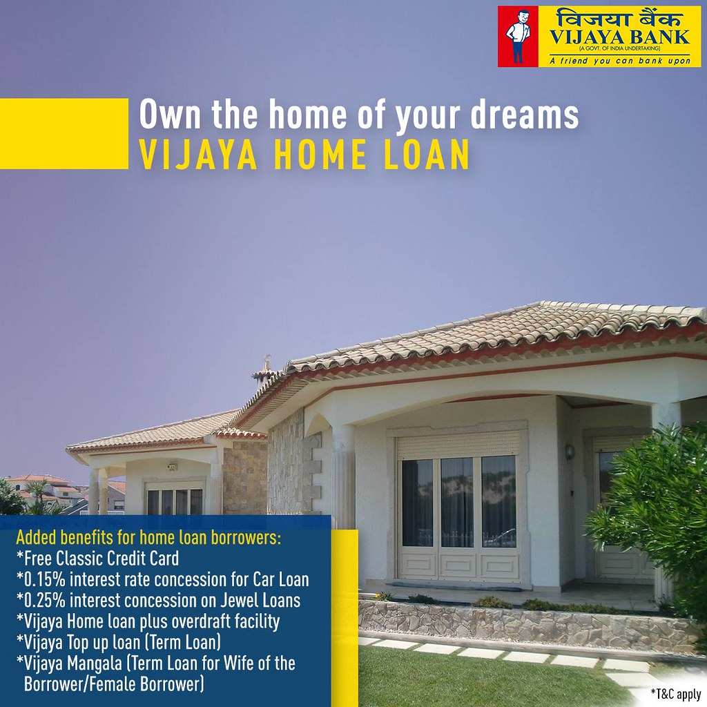 Bank For Home Loan In India The World S Newest Photos By Vijaya Bank Flickr Hive Mind