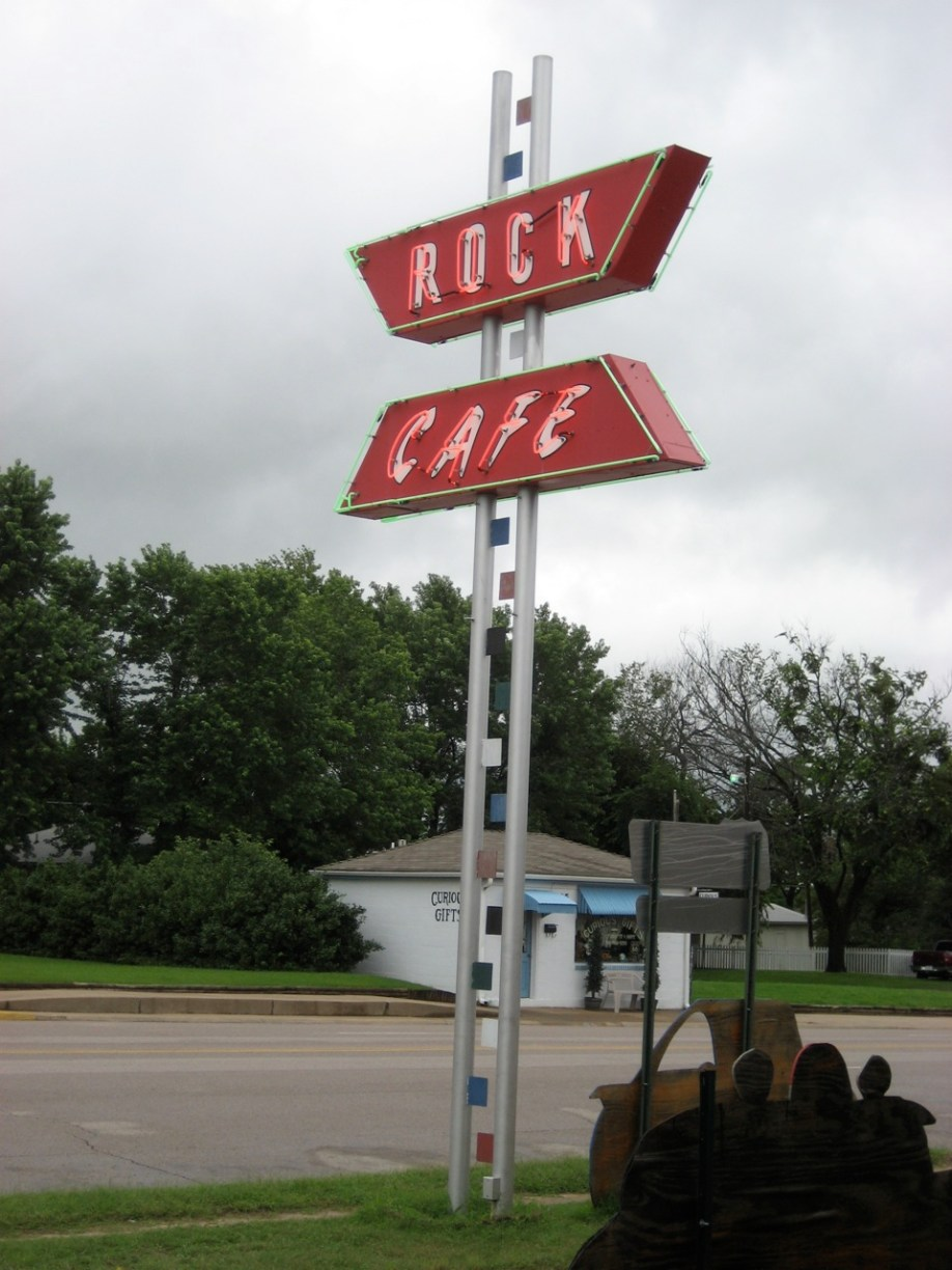 Rock Cafe in Stroud, Oklahoma
