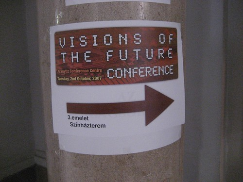 This way to the Visions of the Future Conference