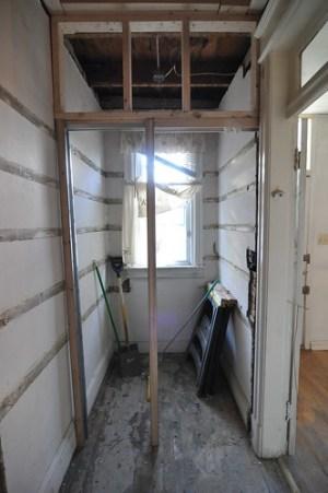 Pantry Door west