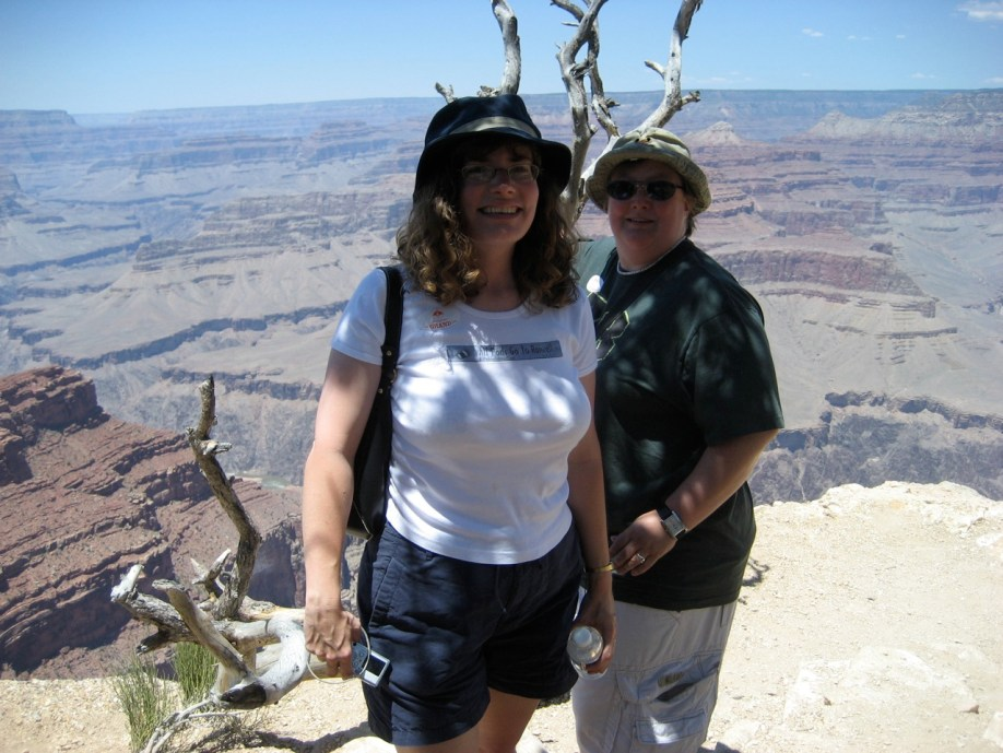 Stephanie and I at the Grand Canyon
