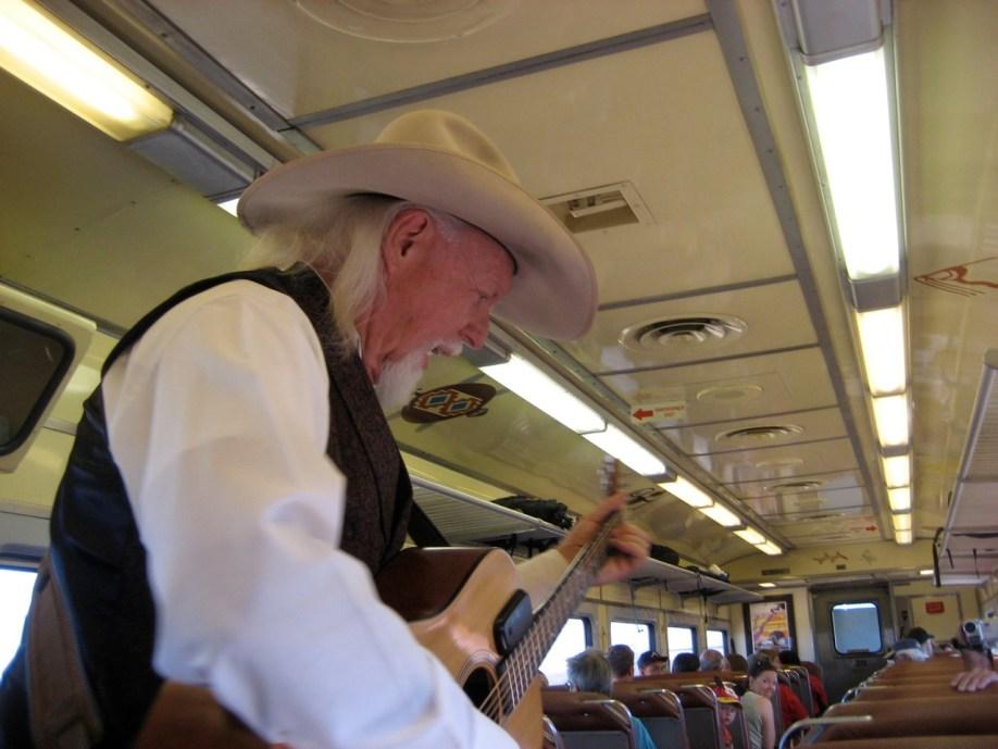Grand Canyon Railroad Train Entertainment