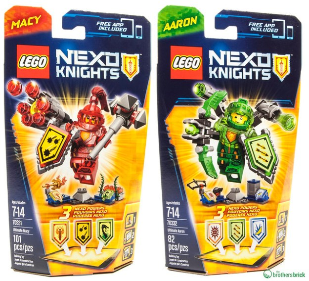 LEGO Nexo Knights Ultimate figures on Amazon