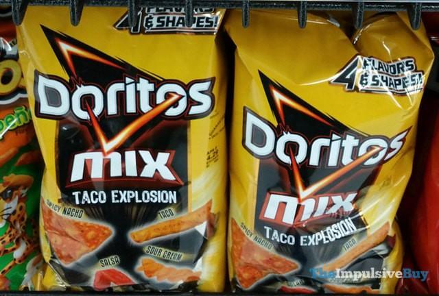Doritos Mix Taco Explosion