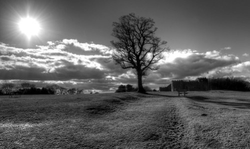Lickey hills off Monument lane.