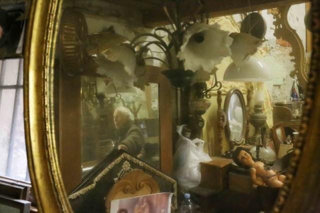 City Landmark -- Emilio Piacentini's Wood Carving Shop, Venice Ghetto