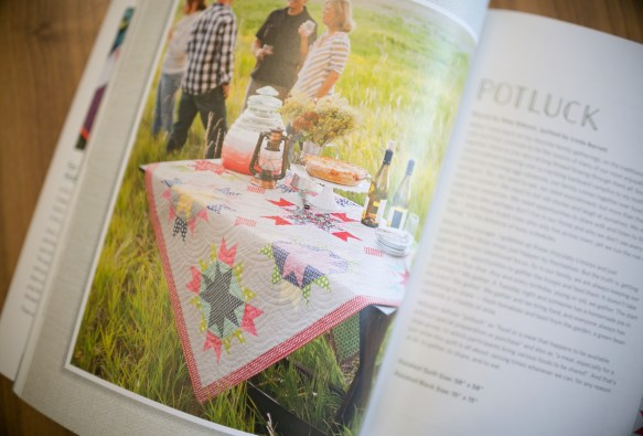 Potluck quilt pattern from For Keeps book
