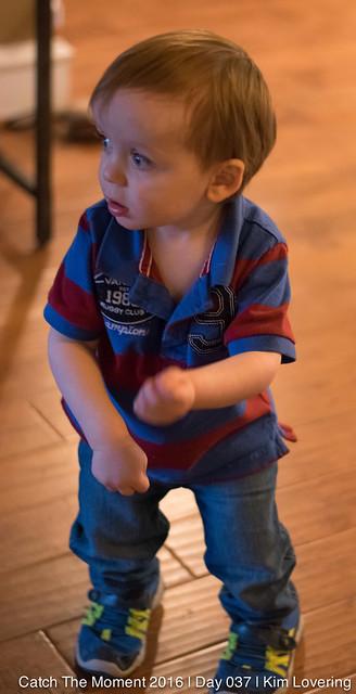 Jonah dancing