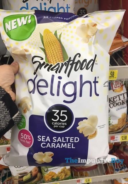 Smartfood Delight Sea Salted Caramel Popcorn