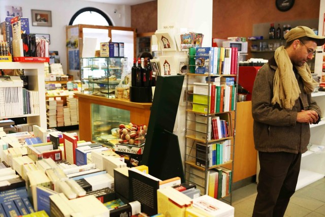 City Landmark - Libreria Alef, Bookshop, Venice Ghetto
