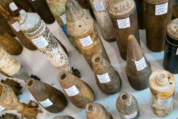 My grandparents' tax dollars at work. UXO Centre