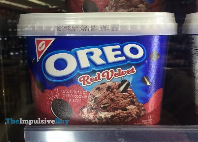 Christie Oreo Red Velvet Frozen Dessert