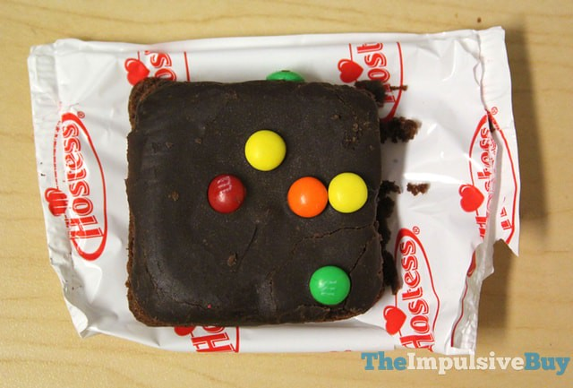 Hostess Brownies made with Milk Chocolate M&M's 2