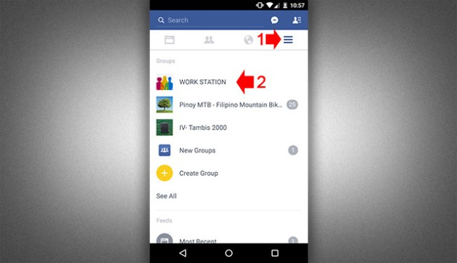 how to start a group chat on facebook mobile