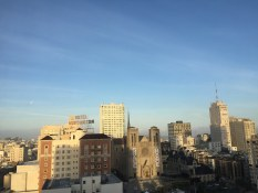View from our room in The Mark | SF